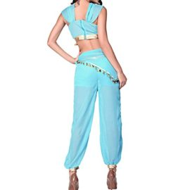 Quesera-Womens-Princess-Jasmine-Costume-Adult-Aladdin-Belly-Dance-Stage-Costume-0-2