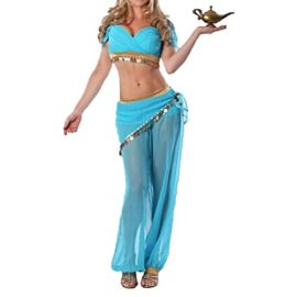 Quesera-Womens-Princess-Jasmine-Costume-Adult-Aladdin-Belly-Dance-Stage-Costume-0