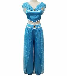 RUEWEY-Womens-Jasmine-Princess-Cosplay-Belly-Dance-Dress-Up-Anime-Lamp-Costumes-Party-Adventure-Outfit-0