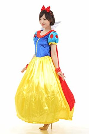 Re-Symphony-Snow-White-Costume-for-Women-Adult-Classic-Princess-Halloween-Glove-Sets-0