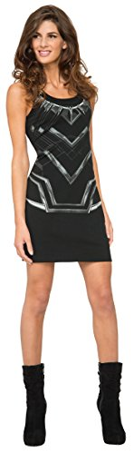 Rubies-Costume-Co-Womens-Marvel-Classic-Black-Panther-Costume-Tank-Dress-0