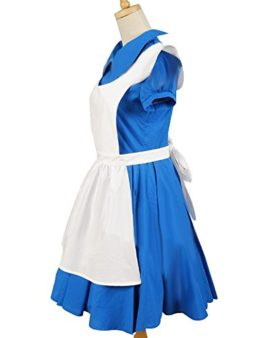 Sidnor-Alice-in-Wonderland-MovieFilm-Blue-Cosplay-Costume-Outfit-Suit-Maid-Dress-Apron-0-1