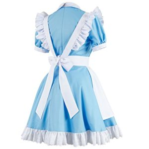 Sidnor-Cosplay-Alice-in-Wonderland-Blue-Maid-Dress-Costume-Outfit-Suit-Apron-New-Version-0-2