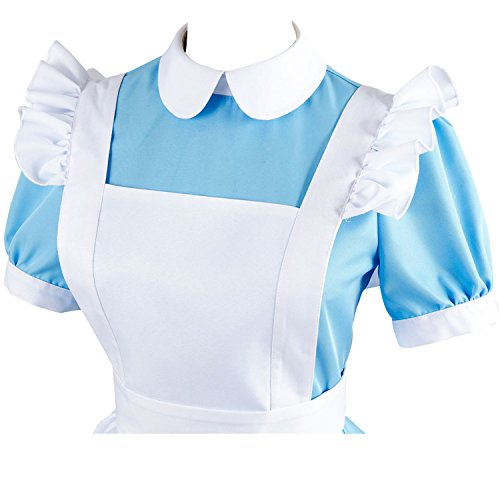 Sidnor-Cosplay-Alice-in-Wonderland-Blue-Maid-Dress-Costume-Outfit-Suit-Apron-New-Version-0-3