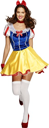 Smiffys-Womens-Fever-Fairy-tale-Costume-Dress-Attached-Underskirt-Headband-and-Choker-Once-Upon-a-Time-Fever-Size-6-8-30195-0-0