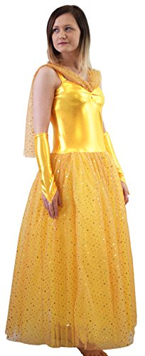 Stage-Dance-Fairy-Tale-Pantomime-Beauty-And-The-Beast-BALL-GOWNBELLE-COSTUME-All-Adult-Sizes-0