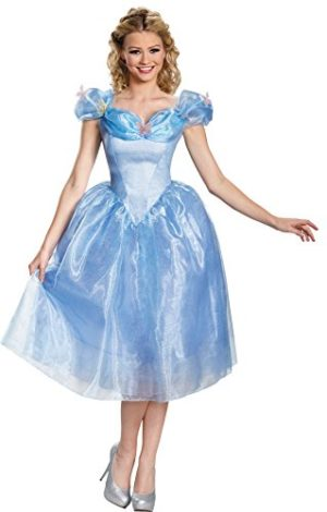UHC-Disney-Cinderella-Movie-Deluxe-Outfit-Womens-Fancy-Dress-Halloween-Costume-S-4-6-0
