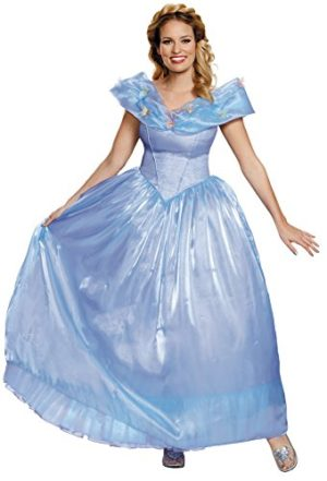 UHC-Disney-Cinderella-Ultra-Prestige-Outfit-Adult-Fancy-Dress-Halloween-Costume-S-4-6-0