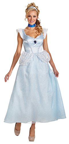 UHC Women's Princess Cinderella Deluxe Disney Theme Party Halloween Costume