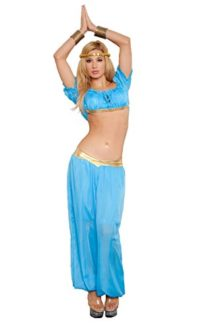 Womens-3-Piece-Genie-Costume-Blue-0
