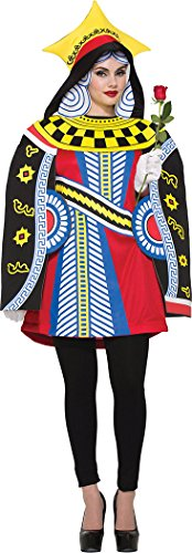 Womens-Fancy-Dress-Party-Alice-In-Wonderland-Queen-Of-Hearts-Costume-Size-10-14-0