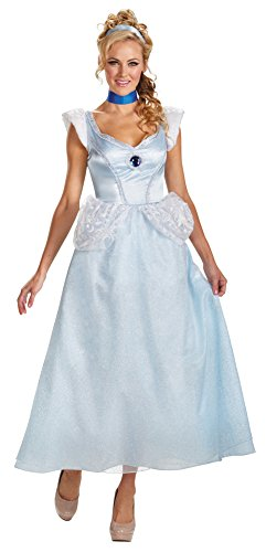 Womens-Halloween-Costume-Cinderella-Deluxe-Adult-Costume-Small-4-6-0
