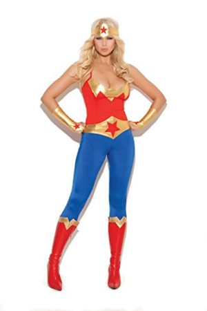 Womens-Super-Star-Hero-Adult-Role-Play-Costume-0