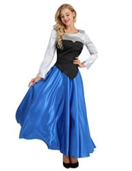 YiZYiF-Adult-Womens-3-Pieces-Little-Mermaid-Ariel-Cosplay-Costume-Princess-Party-Dress-0-1