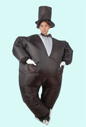 ACE-SHOCK-Inflatable-Magician-Costume-Unisex-Adults-Funny-Halloween-Cosplay-Bodysuit-Blow-up-Costume-0-1