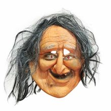 AFfeco-Halloween-Horrible-Ghost-Atmosphere-Party-Props-Silicone-Ugly-Old-Lady-Mask-0