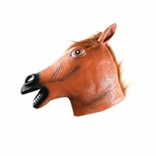AFfeco-Halloween-Horse-Head-Mask-Latex-Animal-Pattern-Head-Cover-for-Prank-Props-0