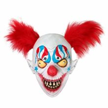 AFfeco-Horrible-Clown-Mask-Natural-Latex-Head-Cover-Halloween-Haunted-House-Props-0