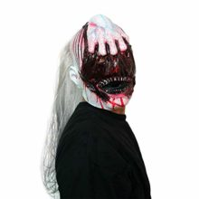 AFfeco-Horrible-Ghost-Head-Mask-Natural-Latex-Vampire-Head-Cover-for-Halloween-Kit-0