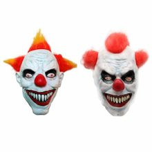 AFfeco-Natural-Latex-Halloween-Fun-Clown-Mask-Horror-Ghost-Head-Cover-for-Ball-Kit-0