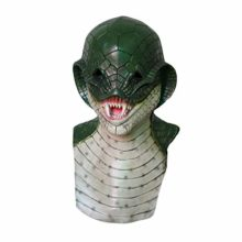 AFfeco-Natural-Latex-Halloween-Snake-Mask-Horror-Animal-Head-Cover-for-Cosplay-Kit-0