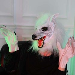 AFfeco-Scary-Wolf-Head-Full-Face-Ghost-Head-Mask-Halloween-Masquerade-Decoration-0-5