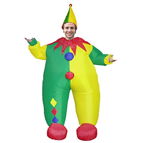 Adult-Clown-Inflatable-Costume-Halloween-Carnival-Giant-Hilarious-Cosplay-Toy-Welcome-Prop-0