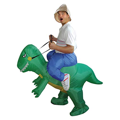 Adult-Dinosaurs-Inflatable-Costumes-Halloween-Christmas-Party-Spoof-Toy-Mounts-0-2