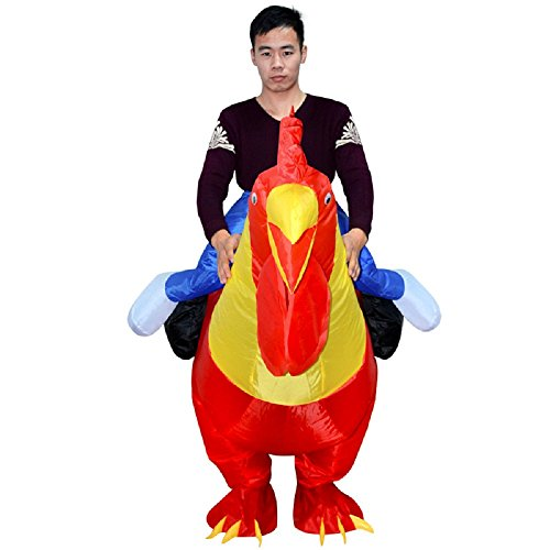 Adult-Inflatable-Costume-Rooster-Chicken-Big-Cock-Blow-Up-Funny-Animal-Cosplay-Suit-0-1