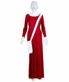 Adult-Womens-Red-Dress-Handmaid-Costume-with-Bag-and-Bonnet-HC-227-0