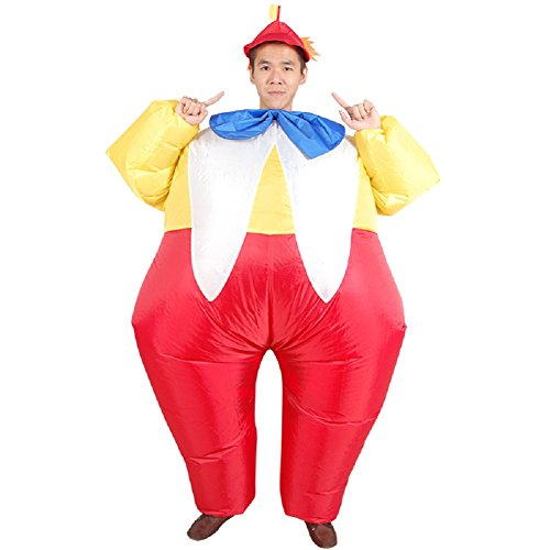Adults-Novelty-Clown-Inflatable-Costume-Halloween-Blow-up-Outfit-0-0