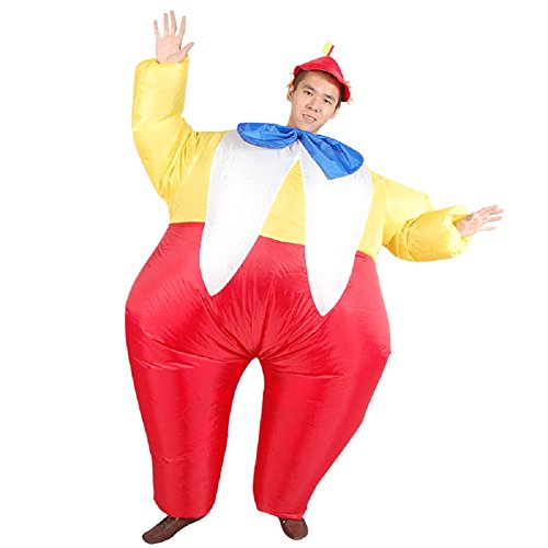 Adults-Novelty-Clown-Inflatable-Costume-Halloween-Blow-up-Outfit-0-1