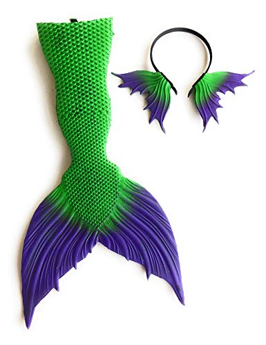 Affordable-Treasures-Little-Mermaid-Ariel-Inspired-2-pc-Costume-Accessory-Kit-with-Mermaid-Tail-and-Headband-0