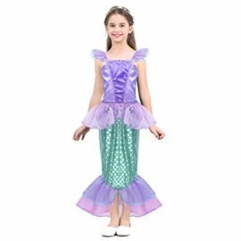 Agoky-Girls-Kids-Little-Mermaid-Princess-Party-Dress-Fairy-Tales-Costume-Cosplay-Fancy-Dress-0-0