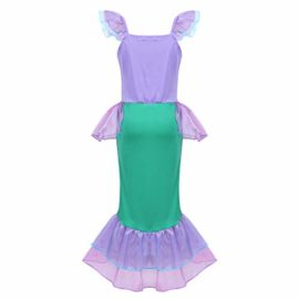 Agoky-Girls-Kids-Little-Mermaid-Princess-Party-Dress-Fairy-Tales-Costume-Cosplay-Fancy-Dress-0-1