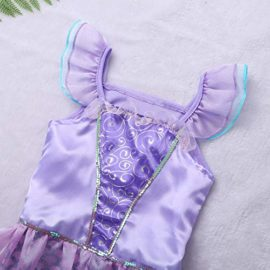 Agoky-Girls-Kids-Little-Mermaid-Princess-Party-Dress-Fairy-Tales-Costume-Cosplay-Fancy-Dress-0-2