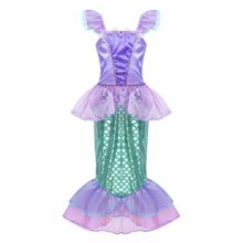 Agoky-Girls-Kids-Little-Mermaid-Princess-Party-Dress-Fairy-Tales-Costume-Cosplay-Fancy-Dress-0