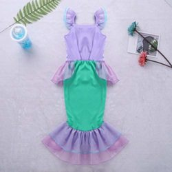 Alvivi-Kids-Girl-Mermaid-Princess-Sequins-Dresses-Costume-Halloween-Cosplay-Party-Dress-with-Tail-0-0