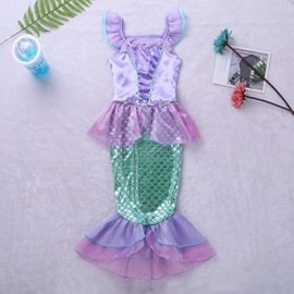 Alvivi-Kids-Girl-Mermaid-Princess-Sequins-Dresses-Costume-Halloween-Cosplay-Party-Dress-with-Tail-0