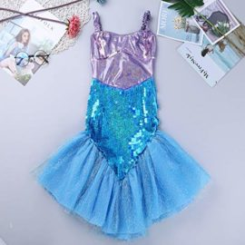 Alvivi-Liitle-Girls-Sequin-Mermaid-Costume-Dress-with-Tail-Halloween-Princess-Dress-up-0-1