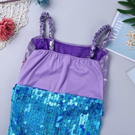 Alvivi-Liitle-Girls-Sequin-Mermaid-Costume-Dress-with-Tail-Halloween-Princess-Dress-up-0