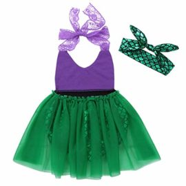 Alvivi-Toddler-Baby-Girl-Mermaid-Costume-Lace-Straps-Halter-Romper-with-Headband-Outfit-0-0