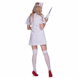 Amazingdeal-Halloween-Nurse-Costume-Bloody-Masquerade-Women-Adult-Party-Cosplay-Dress-0-0