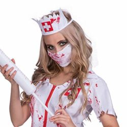 Amazingdeal-Halloween-Nurse-Costume-Bloody-Masquerade-Women-Adult-Party-Cosplay-Dress-0-3
