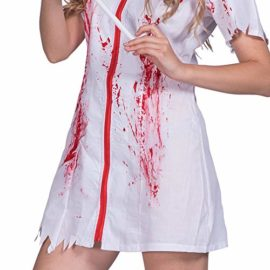 Amazingdeal-Halloween-Nurse-Costume-Bloody-Masquerade-Women-Adult-Party-Cosplay-Dress-0-4