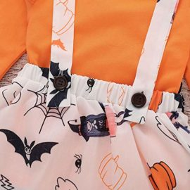 Baby-Halloween-DressLittle-Girls-Long-Sleeve-Tops-Strap-Skirt-2-Piece-Casual-Outfits-Set-0-3