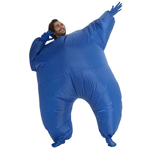 Blue-Light-Up-MegaMorph-Inflatable-Costumes-Adult-Halloween-Fancy-Dress-Funny-Scary-0-2