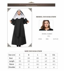 Boleyn-Womens-Classic-Nun-Costume-Halloween-Dress-Cosplay-Plus-Size-0-0