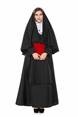 Boleyn-Womens-Classic-Nun-Costume-Halloween-Dress-Cosplay-Plus-Size-0-1