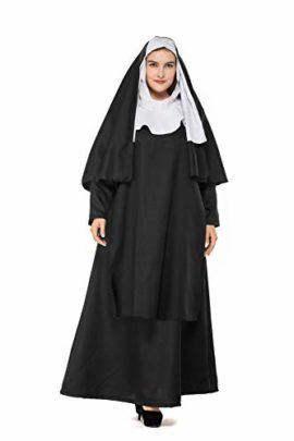 Boleyn-Womens-Classic-Nun-Costume-Halloween-Dress-Cosplay-Plus-Size-0-3